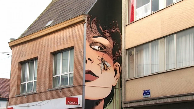 Tubize : deux nouvelles fresques pour embellir la ville