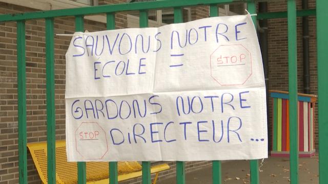 testTubize : les parents disent non au départ du directeur de l'école Ferrer
