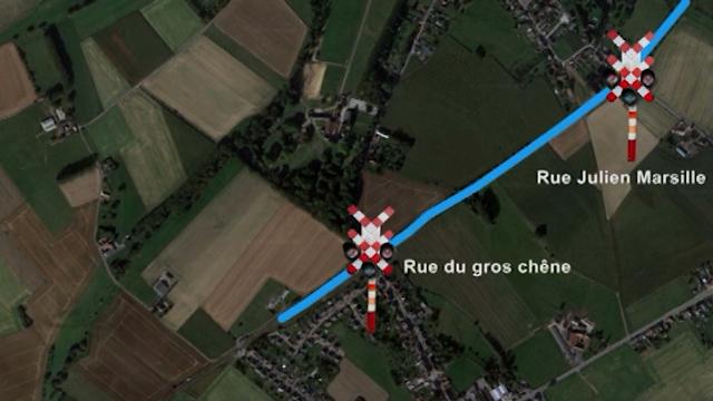 Tubize : liaison rétablie entre la commune et Infrabel