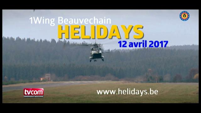 TV Com vous offre 1 baptême de l'air en hélicoptère à Beauvechain