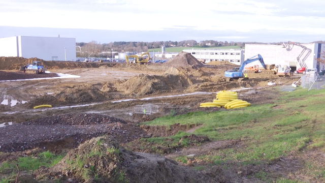 testUCB investit 300 millions d'euros pour une nouvelle usine sur le site de Braine-l'Alleud