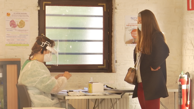 UCLouvain : Un centre de dépistage vient d'ouvrir sur le campus