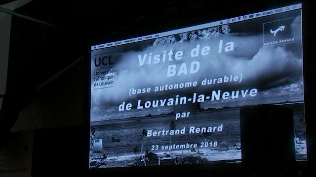 Un bunker autonome durable à Louvain-la-Neuve ?