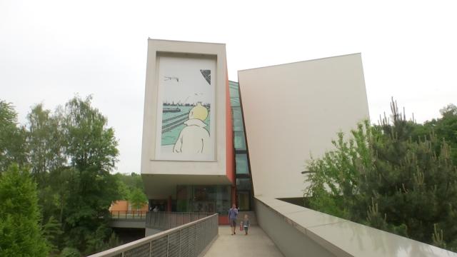 Un double anniversaire pour la réouverture du Musée Hergé à Louvain-la-Neuve