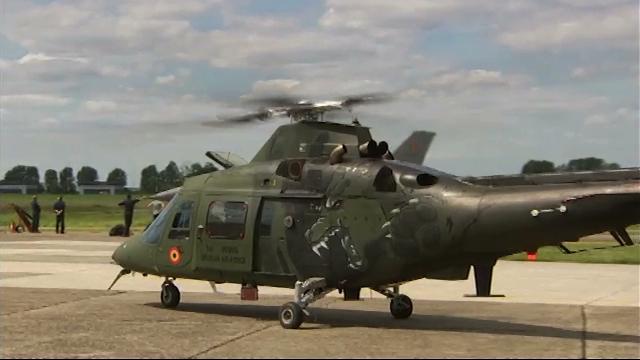 Un hélicoptère Agusta A109 va se poser au collège de Basse-Wavre ce jeudi !