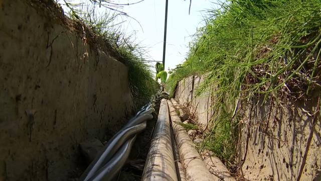 Un kilomètre de câble en cuivre volé à Chastre le long de la ligne Namur-Ottignies!