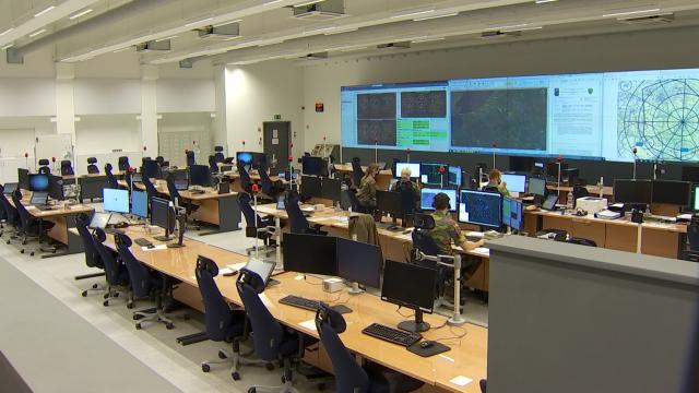 testUn nouveau Centre de contrôle de l'espace aérien à Beauvechain