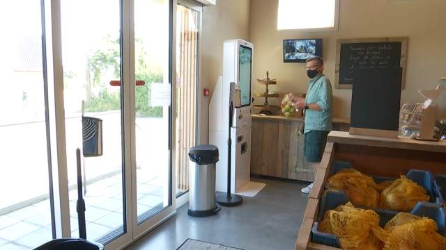 Un nouveau magasin 100% autonome pour le Verger du Paradis