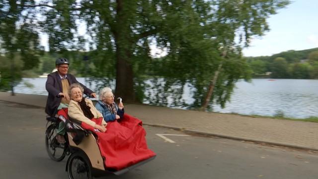 Un rickshaw pour les seniors et les personnes à mobilité réduite à La Hulpe