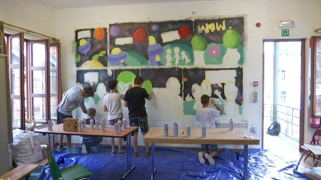 testUn stage de graffiti artistique et citoyen à Genval