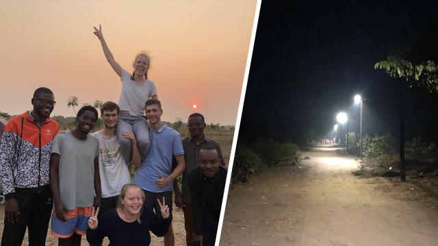 Un village congolais éclairé grâce au travail de 4 étudiants de l'UCLouvain