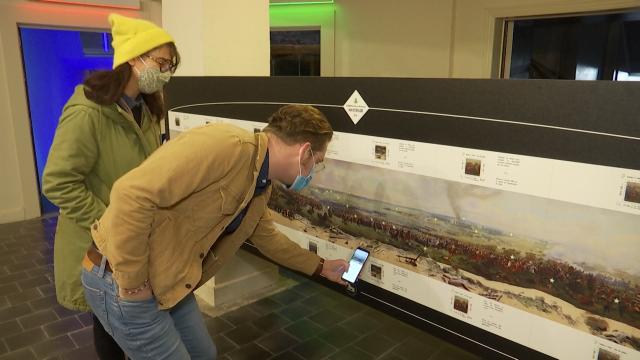 Une application pour redécouvrir le Panorama de la Bataille de Waterloo