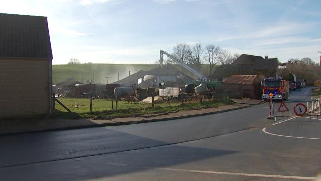 testUne cagnotte pour la ferme de Vieusart partie en fumée ce lundi