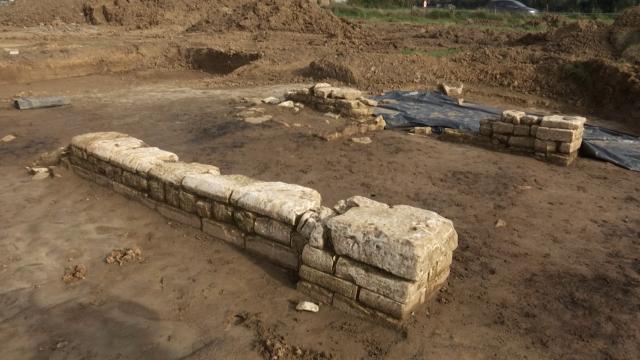Une église du 15ème siècle découverte à Huppaye