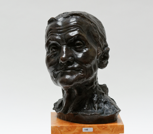 testUne statue de Camille Claudel vendue 110 000 euros à Wavre !