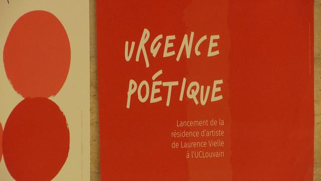 testUrgence poétique à l'UCLouvain !