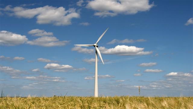 Walhain : six éoliennes dans le paysage