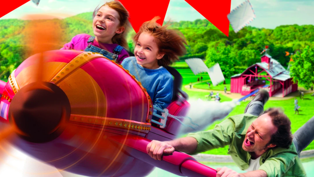 "Walibi : la nouvelle montagne russe pour enfants baptisée ""Fun Pilot"""