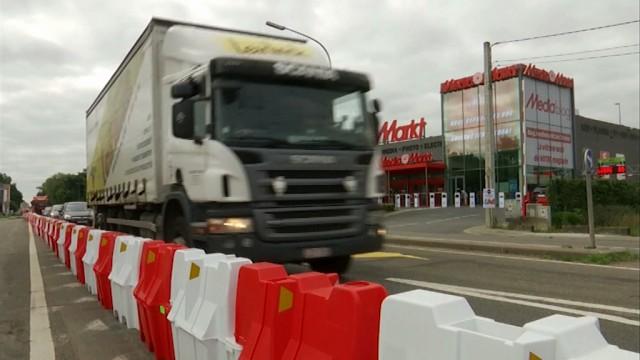 Waterloo : Deux nouveaux ronds-points
