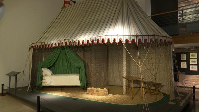 Waterloo : le bivouac de Napoléon est installé au Musée Wellington