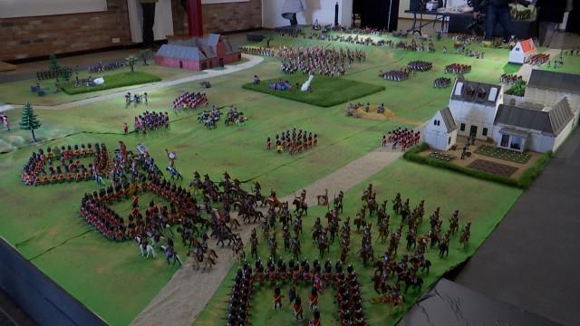 Waterloo : les Playmobil® en vedette au musée Wellington