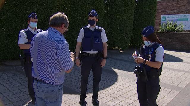 Waterloo masqué : la police veille, les citoyens s'appliquent
