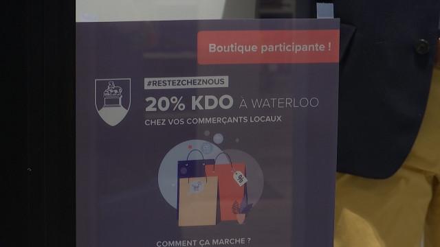 Waterloo soutient le commerce et l'horeca avec des chèques cadeau