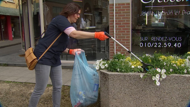 Wavre : la chasse aux déchets selon la société AbbVie