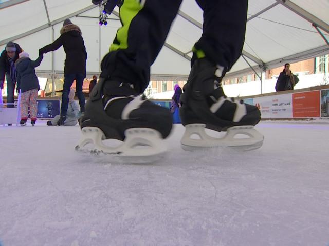 testWavre : chausser ses patins à glace jusqu'au 6 janvier
