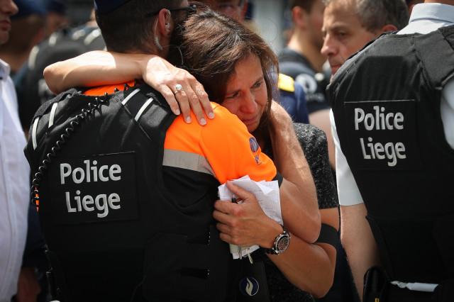 testWavre rend hommage aux victimes de l'attaque de Liège