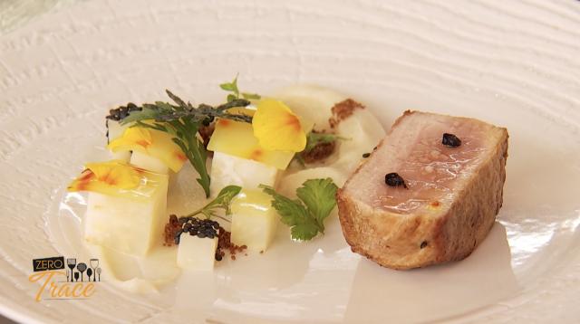 Zéro Trace - Médaillon de porc de Piétrain caramélisé